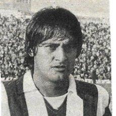 Coleccionismo deportivo: ATLÉTICO DE MADRID: RECORTE DE BENEGAS. 1975. Lote 277729438