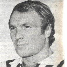 Coleccionismo deportivo: JUVENTUS DE TURÍN ( TORINO ): RECORTE DE JOSÉ ALTAFINI. 1973. Lote 277730018