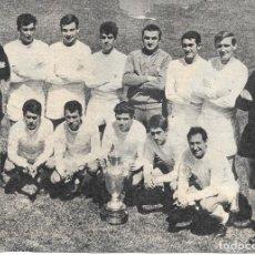 Coleccionismo deportivo: REAL MADRID: GRAN RECORTE DE LOS CAMPEONES DE EUROPA DE 1966, LOS YE-YÉS DE LA SEXTA. Lote 277730868