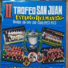 Coleccionismo deportivo: FOLLETO II TROFEO SAN JUAN UNION DEPORTIVA SALAMANCA. Lote 277838883