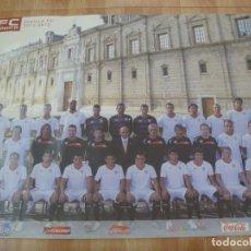 Coleccionismo deportivo: SEVILLA F.C. : POSTER ALINEACION 2011 - 2012. Lote 279403093