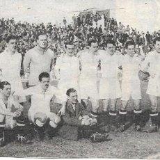 Coleccionismo deportivo: REAL MADRID: RECORTE DE LA TEMPORADA 31-32. Lote 279556433