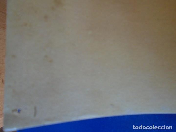 Coleccionismo deportivo: (F-210910)CARTEL HOMENAJE JOSE ESCOLA 12-6-49 F.C.BARCELONA-F.C.OPORTO ILUSTRADO POR SEGRELLES - Foto 3 - 287995088