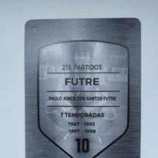 Coleccionismo deportivo: PLACA FUTRE ATLÉTICO DE MADRID. Lote 288008258