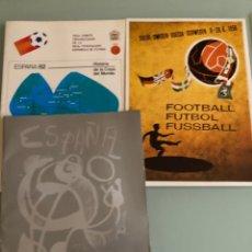 Coleccionismo deportivo: 1982 ESPAÑA 82 COLECCIÓN DE TODOS LOS CARTELES. Lote 288311473
