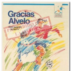 Coleccionismo deportivo: 28-12-1988 CARTEL GIGANTE HOMENAJE A ALVELO CELTA DE VIGO. Lote 294090018