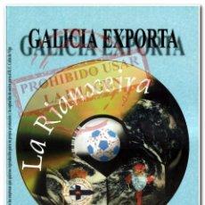 Coleccionismo deportivo: CARTEL GALICIA EXPORTA CELTA DE VIGO DEPORTIVO DE LA CORUÑA. Lote 294090553