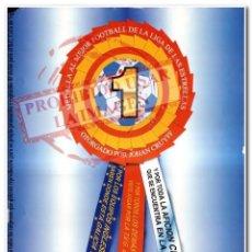 Coleccionismo deportivo: CARTEL MEDALLA AL MEJOR FOOTBALL CELTA DE VIGO. Lote 294090968