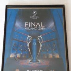 Coleccionismo deportivo: LAMINA DE LA FINAL R.MADRID-ATLETICO DE MADRID 2.016. Lote 294430563
