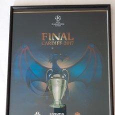 Coleccionismo deportivo: LAMINA DE LA FINAL CHAMPIONS LEAGUE 2.017. Lote 294435783