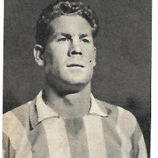 Coleccionismo deportivo: ATLÉTICO DE MADRID: RECORTE DEL MALOGRADO MIGUEL MARTÍNEZ.. Lote 295485468