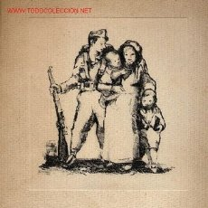 Carteles Guerra Civil: CARPETA INFANTS, DE CREIXAMS. 1937. . Lote 26582370