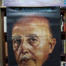Carteles Guerra Civil: CARTEL DE GRAN FORMATO DE FRANCO . Lote 97222687