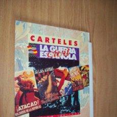 Affiches Guerre Civile: CARTELES GUERRA CIVIL - ED. INTERVIU - 10 LAMINAS CON CARPETA. Lote 27294170