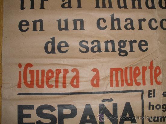 Carteles Guerra Civil: Detalle - Foto 4 - 29288293