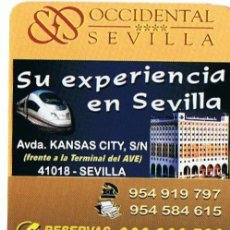 Carteles Guerra Civil: CA-550 CALENDARIO HOTEL OCCIDENTAL SEVILLA AÑO 2009. Lote 29835483