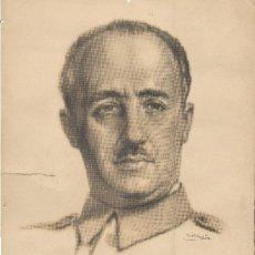 Carteles Guerra Civil: POSTER DE FRANCO. ENVÍO GRATUITO. Lote 31688900