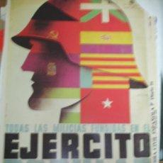 Carteles Guerra Civil: EJERCITO POPULAR. Lote 34205751