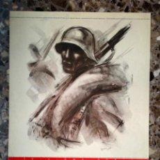 Carteles Guerra Civil: PORTADA DE CALENDARIO ORIGINAL DE 1938. GUERRA CIVIL. PERFECTO ESTADO. CARTEL COMISARIADO PROPAGANDA. Lote 41712460