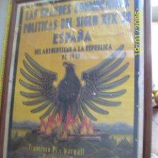Carteles Guerra Civil: CARTEL ANUNCIADOR REPUBLICANO DE DISCURSO DE FRANCISCO PI Y MARAGALL Y ASUAGA.MEDIDAS EN FOTOS. Lote 43222177