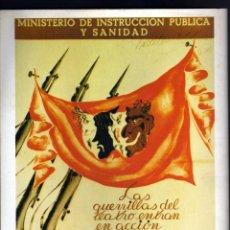 Carteles Guerra Civil: CARTEL- GUERRA CIVIL ESPAÑOLA - 21 X 28 CM. - EDICIONES URBION. Lote 44340974