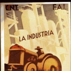 Carteles Guerra Civil: CARTEL- GUERRA CIVIL ESPAÑOLA - 21 X 28 CM. - EDICIONES URBION. Lote 44341022