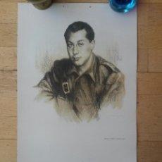 Carteles Guerra Civil: CARTEL JOSE ANTONIO PRIMO DE RIVERA ,FIRMADO POR M. CRISPIN (36) DE 61,2 X 35,4 CMS. FALANGE. Lote 44759153