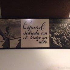 Carteles Guerra Civil: CUADRO/CARTEL, ORIGINAL DEL ALZAMIENTO. Lote 54808975
