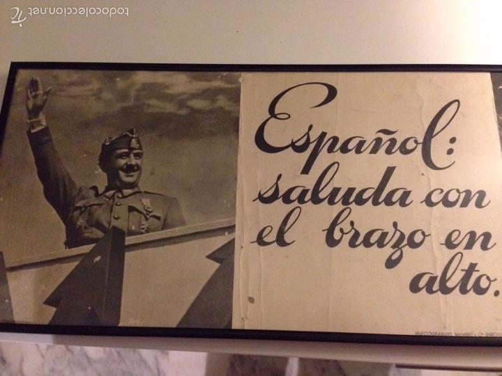 Carteles Guerra Civil: Cuadro/Cartel, original del Alzamiento - Foto 2 - 54808975