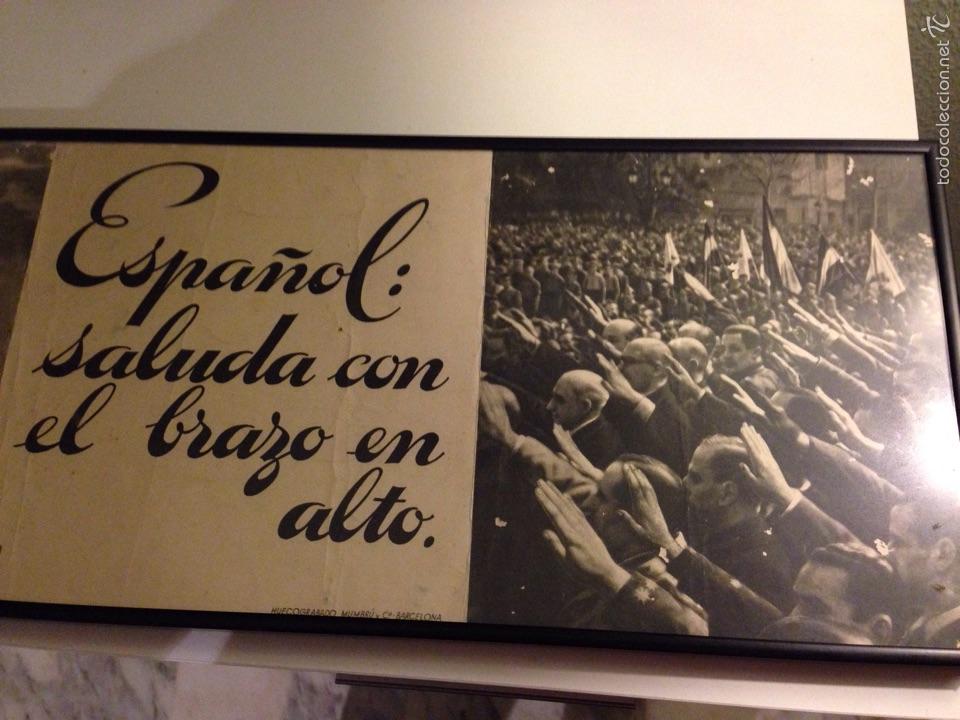 Carteles Guerra Civil: Cuadro/Cartel, original del Alzamiento - Foto 3 - 54808975