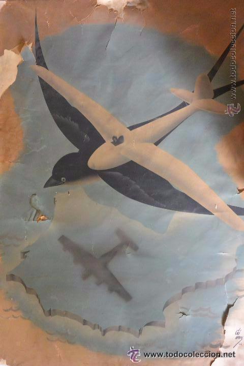 GRAN CARTEL GUERRA CIVIL ESPAÑOLA (Coleccionismo - Carteles Gran Formato - Carteles Guerra Civil)