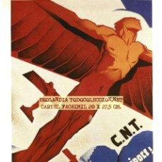 Carteles Guerra Civil: CG1 CARTELES GUERRA CIVIL EKL ZONA REPUBLICANA~ CARTEL BANDO REPUBLICANO {ED. URBIÓN} Nº 88. Lote 65976374