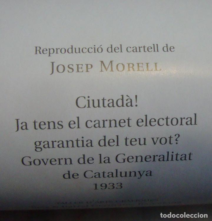 Carteles Guerra Civil: CARTEL REPRODUCCION JOSEP MORELL MEDIDAS 68,5 X 100 - Foto 4 - 69700057