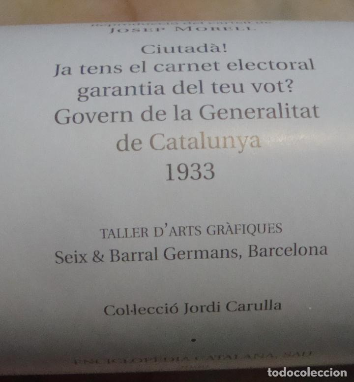 Carteles Guerra Civil: CARTEL REPRODUCCION JOSEP MORELL MEDIDAS 68,5 X 100 - Foto 5 - 69700057