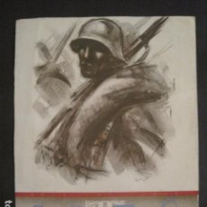 Carteles Guerra Civil: CARTEL GUERRA CIVIL ILUSTRADO POR SIM -AÑO 1938- PORTADA CALENDARIO?-26 X 34 CM-VER FOTOS-(V-10.586). Lote 83301164