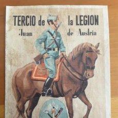 Carteles Guerra Civil: CARTEL TERCIO DE LA LEGIÓN. Lote 84423012