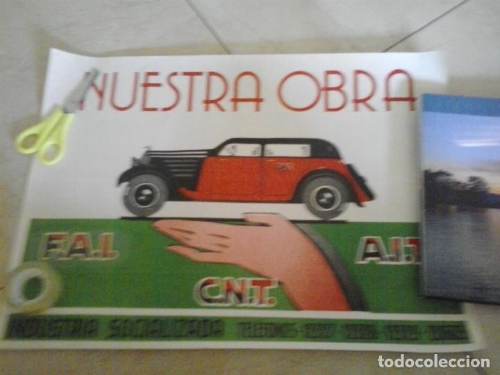 Carteles Guerra Civil: CARTEL GUERRA CIVIL CNT - Foto 1 - 85541328