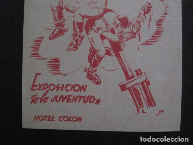 Carteles Guerra Civil: CARTEL BON-2 DE MAYO EL ARTE POR NUESTRA INDEPENDENCIA - AÑO 1938-GUERRA CIVIL -VER FOTOS-(V-11.235) - Foto 4 - 87441460