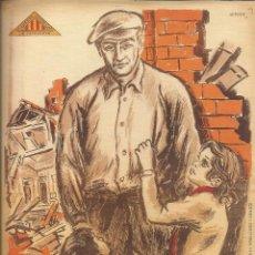 Carteles Guerra Civil: CARTEL GUERRA CIVIL ESPAÑOLA - *PARE, QUE NO VEIEU QUE ENS MATEN?* - CRISTOBAL ARTECHE (1937). Lote 89688540