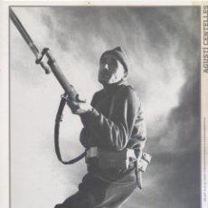 Carteles Guerra Civil: AGUSTÍ CENTELLES - SOLDAT ALPI AL FRONT D' ARAGO - GUERRA CIVIL - SÁPIENS . Lote 89692092