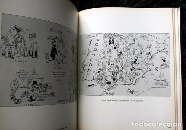Carteles Guerra Civil: LIBRO CARTELES DE LA REPUBLICA Y DE LA GUERRA CIVIL - MUY ILUSTRADO - TAPA DURA - Foto 3 - 92096790