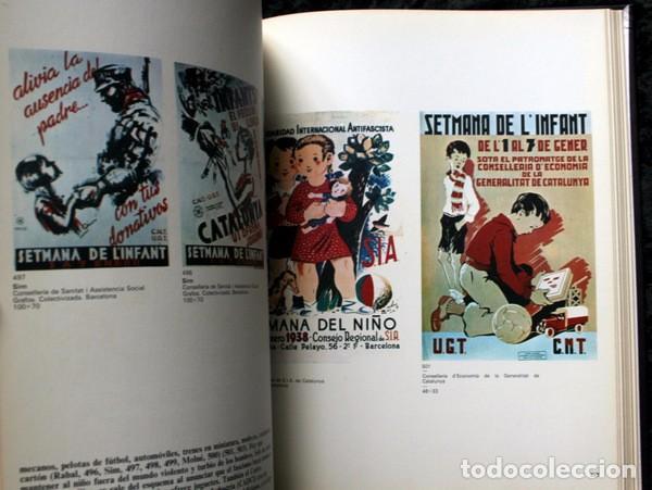 Carteles Guerra Civil: LIBRO CARTELES DE LA REPUBLICA Y DE LA GUERRA CIVIL - MUY ILUSTRADO - TAPA DURA - Foto 4 - 92096790