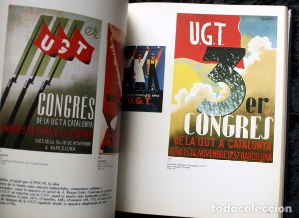 Carteles Guerra Civil: LIBRO CARTELES DE LA REPUBLICA Y DE LA GUERRA CIVIL - MUY ILUSTRADO - TAPA DURA - Foto 6 - 92096790