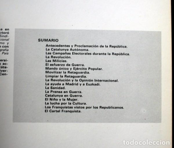 Carteles Guerra Civil: LIBRO CARTELES DE LA REPUBLICA Y DE LA GUERRA CIVIL - MUY ILUSTRADO - TAPA DURA - Foto 11 - 92096790