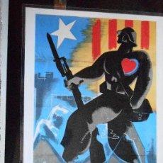 Carteles Guerra Civil: CARTEL DE LA GUERRA CIVIL ESPAÑOLA, Nº 30 · ¡PLASTIFICADO A MÁQUINA! · 28 X 21 CM /3, ENVÍO GRATIS/. Lote 109471918