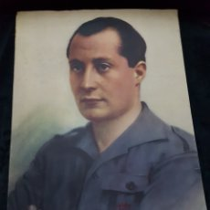 Carteles Guerra Civil: GRAN CARTEL JOSE ANTONIO PRIMO DE RIVERA GUERRA CIVIL. Lote 111920572