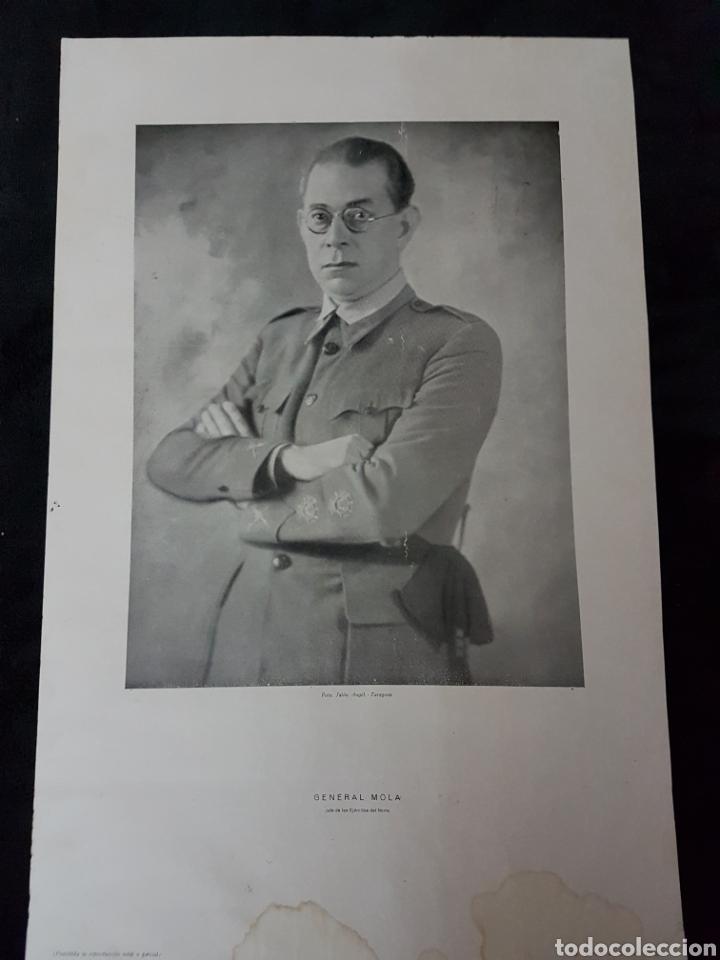 CARTEL MOLA ZARAGOZA GUERRA CIVIL (Coleccionismo - Carteles Gran Formato - Carteles Guerra Civil)