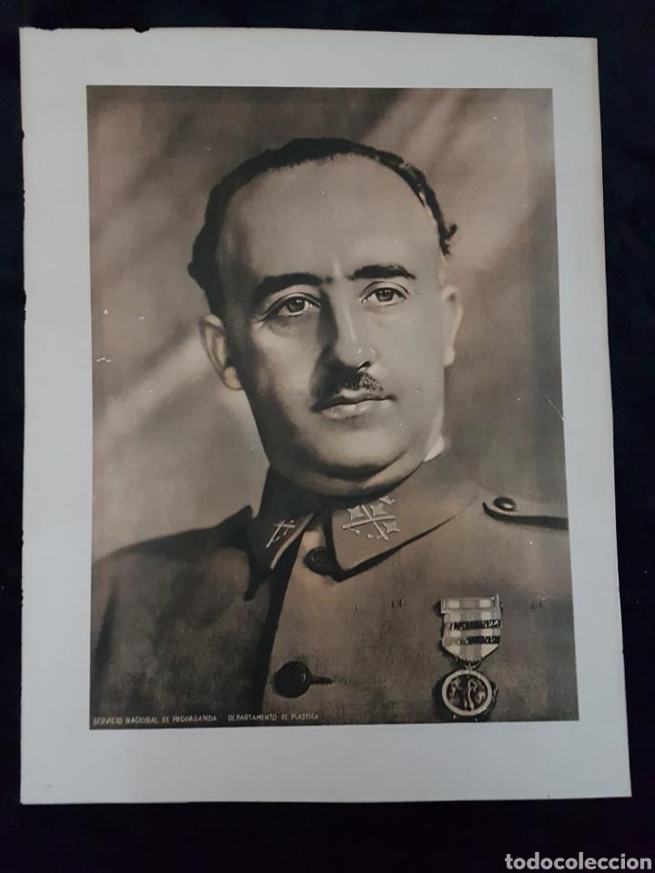 CARTEL FRANCO GUERRA CIVIL (Coleccionismo - Carteles Gran Formato - Carteles Guerra Civil)