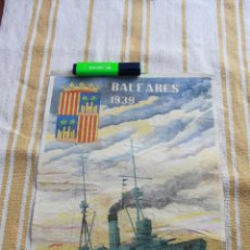 Carteles Guerra Civil: CARTEL GUERRA CIVIL ESPAÑOLA: 29X40: BALEARES 1939. Lote 116383519