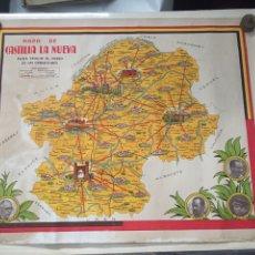 Plakate Spanischer Bürgerkrieg - Guerra Civil - Mapa de Castilla la Nueva para seguir el curso de las operaciones - Bando Republicano - 120200703